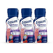 Ensure High Protein Nutrition Shake Strawberry Ready-to-Drink 6 pk