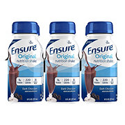 Ensure Original Nutrition Shake Dark Chocolate Ready-to-Drink 6 pk