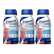 Ensure Original Nutrition Shake Strawberry 6 pk