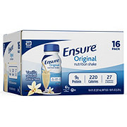 Ensure Original Nutrition Shake Vanilla 16 pk