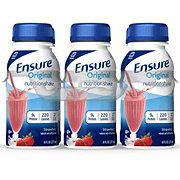 Ensure Original Strawberry Ready-to-Drink Nutrition Shake 6 pk