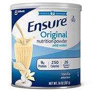 Ensure Vanilla Nutrition Powder