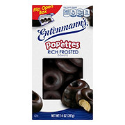 Entenmann's Pop'ems Rich Chocolate Frosted Donuts