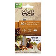 Enviroscent Amber Woods Drawer Sticks