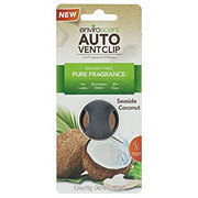 EnviroScent Auto Vent Clip Seaside Coconut