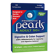 Enzymatic Therapy Probiotic Pearls Adult 50+, Softgels