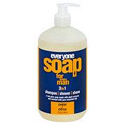 EO Everyone Botanical For Men 3-in-1 Cedar & Citrus Soap