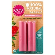 eos Lip Balm, Strawberry Sorbet