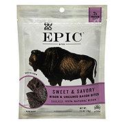 EPIC Bites Bison Meat Bacon Chia & Raisins
