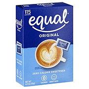 Equal 0 Calorie Sweetener Packets