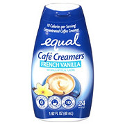 Equal Cafe Creamers French Vanilla Concentrated Liquid Coffee Creamer