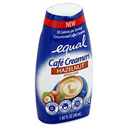 Equal Cafe Creamers Hazelnut Concentrated Liquid Coffee Creamer
