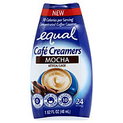 Equal Cafe Creamers Mocha Concentrated Liquid Coffee Creamer
