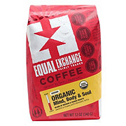 Equal Exchange Organic Mind Body Soul Medium Roast Ground Coffee