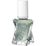 essie Gel Couture Spellbound, Green Metallic Nail Polish