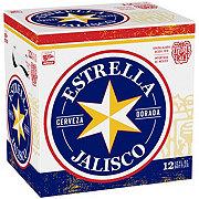 Estrella Jalisco Cerveza Tradicional Beer 12 oz Bottles