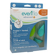 Evenflo Advanced Plus Angled & Vented 9 OZ Bottles, Assorted Colors