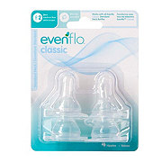 Evenflo Classic Silicone Medium Flow Nipples 2 (3-6 Months)