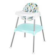 Evenflo Convertible High Chair- Dottie Lime