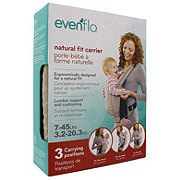 Evenflo Natural Fit Baby Carrier, Khaki Orange