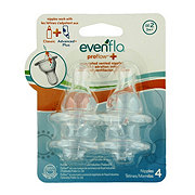 Evenflo Proflow Plus Silicone Medium Flow Nipples (3+ Months)