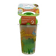 Evenflo Zoo Friends 9 OZ Insulated Straw Cup, Assorted Colors