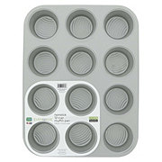 Evenwave Aluminum Non-stick 12 Cup Muffin Pan