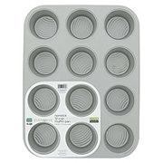 Evenwave Aluminum Non-stick 12 Cup Muffin Pan