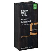 Every Man Jack Sandalwood Beard Oil