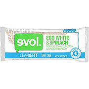 Evol Lean & Fit Egg White & Spinach Breakfast Burrito