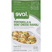 Evol Portabella & Goat Cheese Ravioli