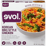 Evol Single Serve Korean BBQ Style Chicken