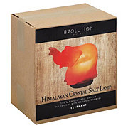Evolution Salt Himalayan Crystal Salt Elephant Lamp