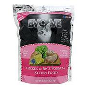 Evolve Chicken & Rice Formula Kitten Food