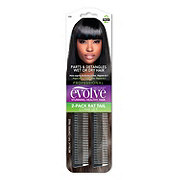 EVOLVE Evolve Rat Tail Comb Set W/metallic T