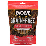Evolve Grain Free Salmon Sweet Potato Jerky Bites