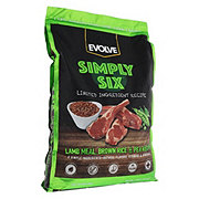 Evolve Simply Six Lid Lamb Meal, Brown Rice & Pea Recipe Dog Food