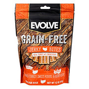 Evolve Turkey Pea Berry Grain Free Jerky Bites