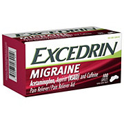 Excedrin Migraine Pain Reliever/Pain Reliever Aid Coated Caplets