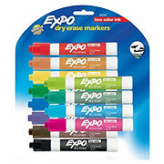 Expo Chisel Tip Assorted Color Dry Erase Markers