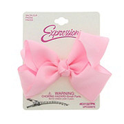 Expressions Pink Grograin Bow