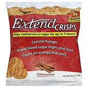 Extend Crisps Cinnamon Blood Sugar Control Crisps