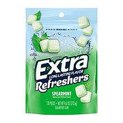 Extra Refreshers Spearmint Gum, 120-Piece Bag