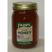 Fain's Natural Raw Pure Honey