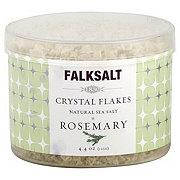 Falksalt Crystal Flakes Rosemary Natural Sea Salt