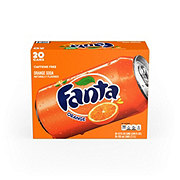 Fanta Orange Soda 20 PK Cans