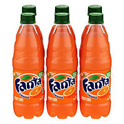 Fanta Orange Soda .5 L Bottles