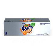 Fanta Zero Sugar Free Orange Soda 12 PK Cans