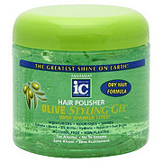 Fantasia Hair Polisher Olive Styling Gel with Sparkle Lites