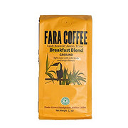 Fara Coffee Breakfast Blend Light Roast Ground Coffee